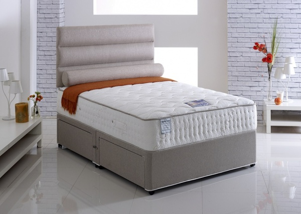 Vogue Emperor 1500 Pocket Spring Talalay Latex Divan Bed Set