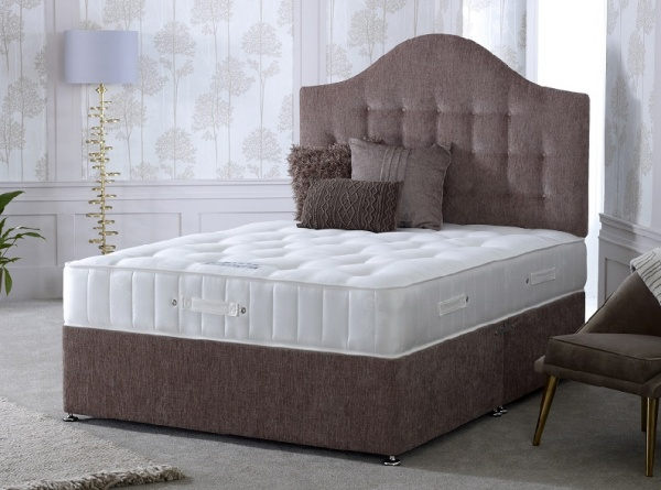 Bedmaster Crystal 1400 Pocket Sprung Divan Bed Set