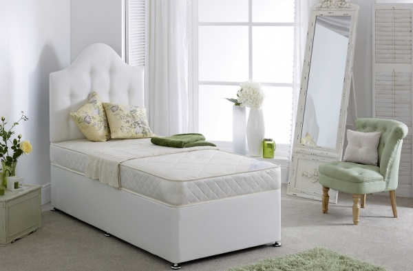 Bedmaster Diamond Sprung Divan Bed Set