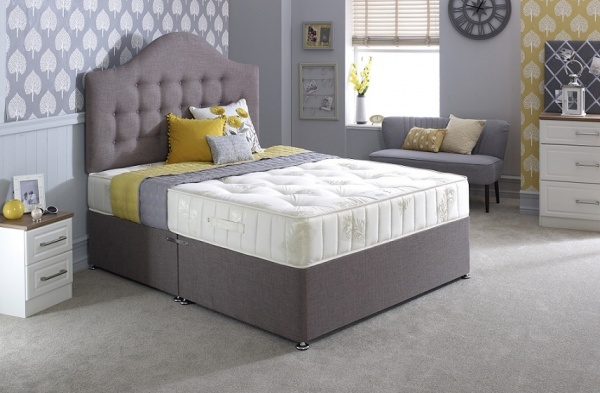 Bedmaster Ortho Classic Hand Tufted Divan Bed Set