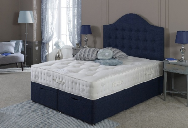 Bedmaster Platinum 2000 Pocket Sprung Deep Wool Filled Divan Bed Set
