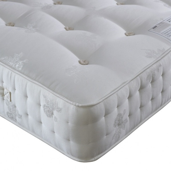 Bedmaster Platinum 2000 Pocket Sprung Deep Wool Filled Mattress