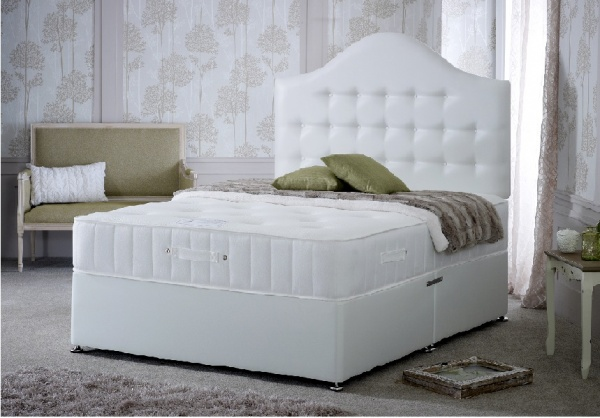 Bedmaster Quartz 3000 Pocket Sprung Memory Foam Divan Bed Set