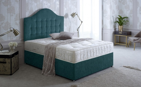 Bedmaster Serene 1000 Pocket Sprung Divan Bed Set