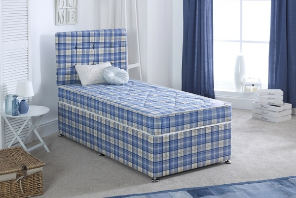 Bedmaster Virginia 13.5g Coil Sprung Divan Bed Set