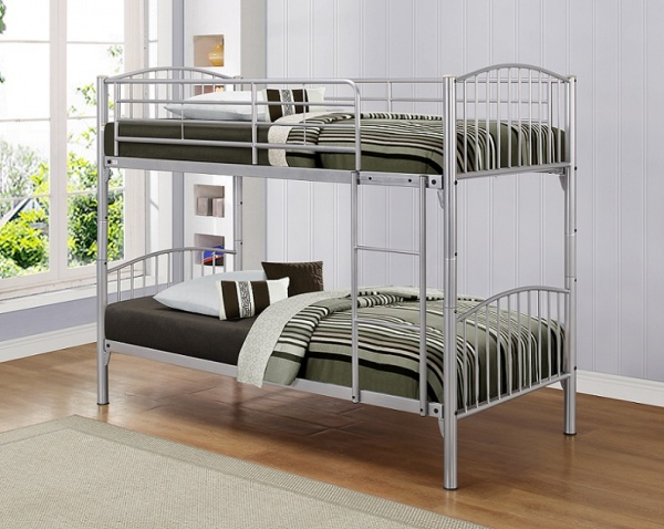 Birlea Corfu Metal Twin Bunk Bed