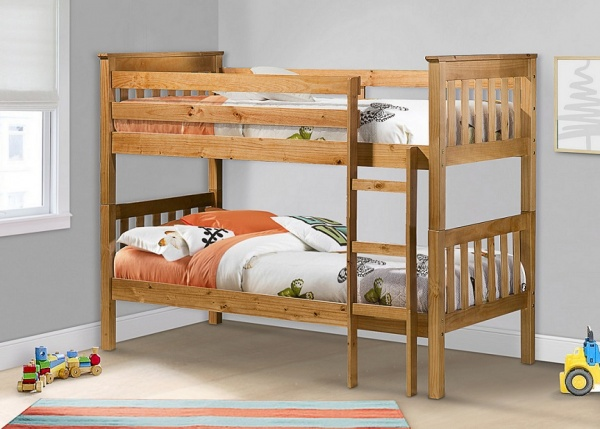 Birlea Portland Kids Pine Bunk Bed