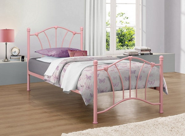 Birlea Princess Kids Metal Bed Frame