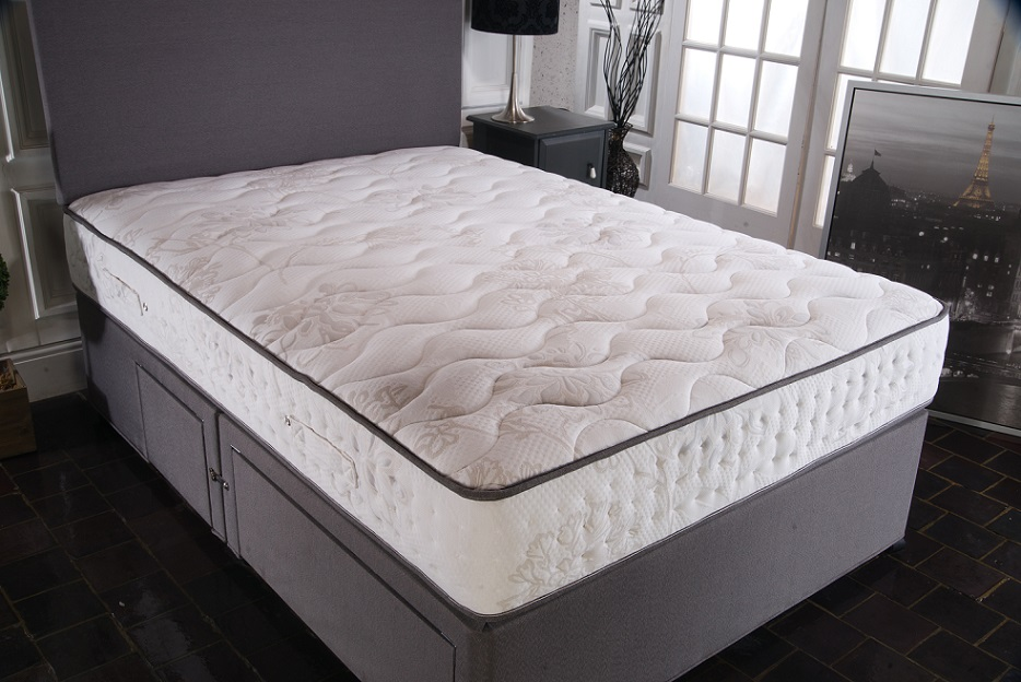 Vogue Empress 1500 Pocket Sprung Blu Cool Memory Foam Mattress