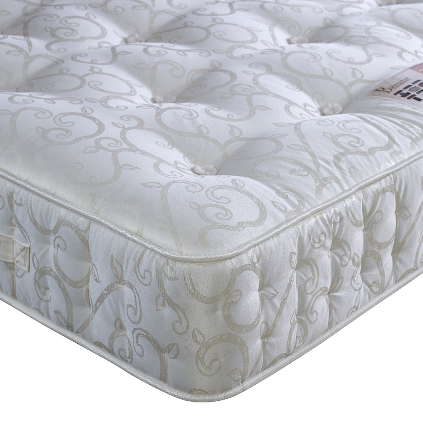 Bedmaster Miracle 1000 Pocket Sprung Deep Wool Filled Mattress