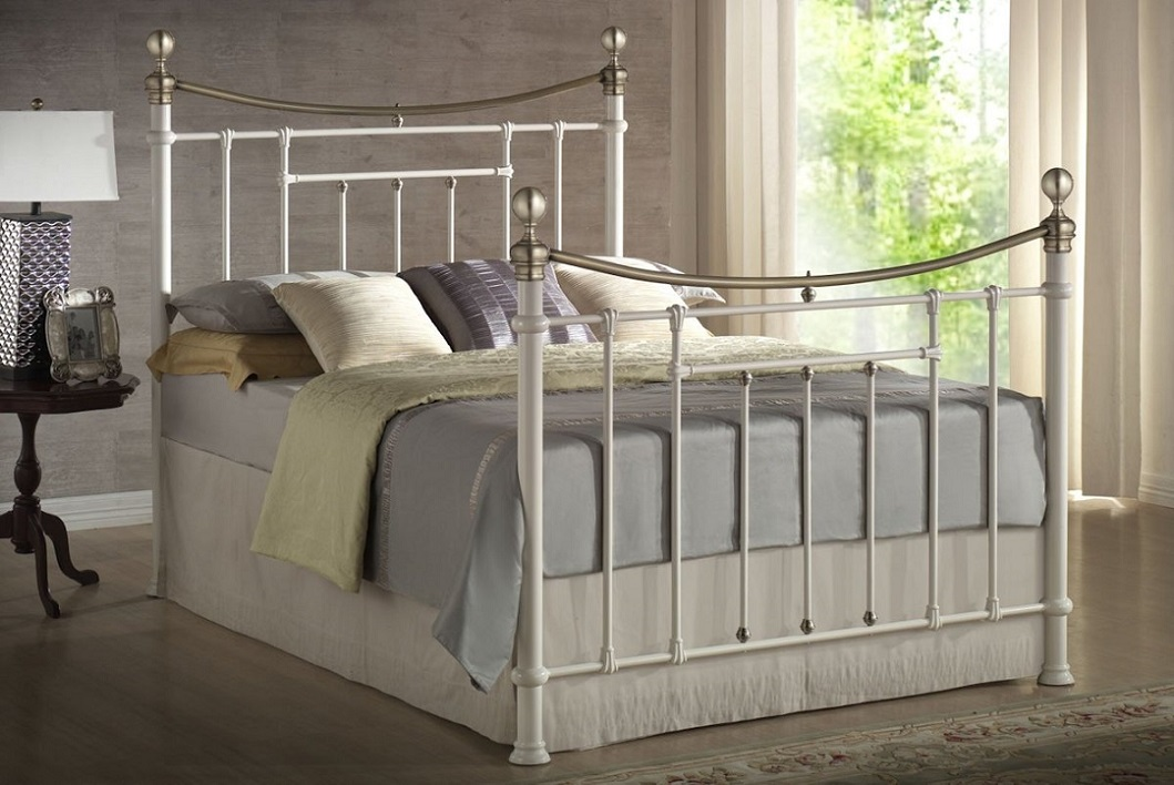 Picture of: Birlea Hawthorne Metal Bed Frame Best Beds Direct