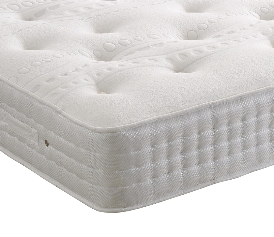Healthbeds Heritage Cool Comfort 1400 Pocket Sprung with Breathable Cool Gel Lay-Tec Mattress