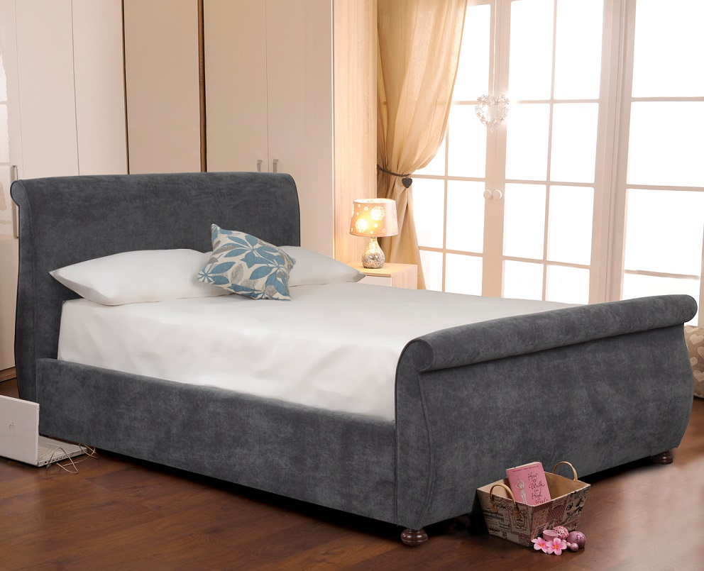 Sweet Dreams Adore Upholstered Fabric Bed Frame