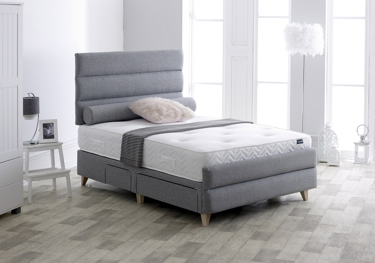 Vogue Banbury Upholstered Fabric Storage Bed Frame