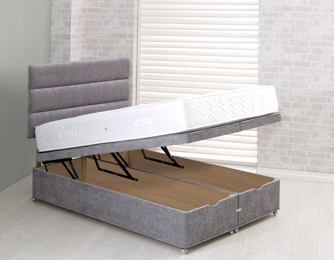 Vogue Full End Lift Storage Ottoman Divan Base