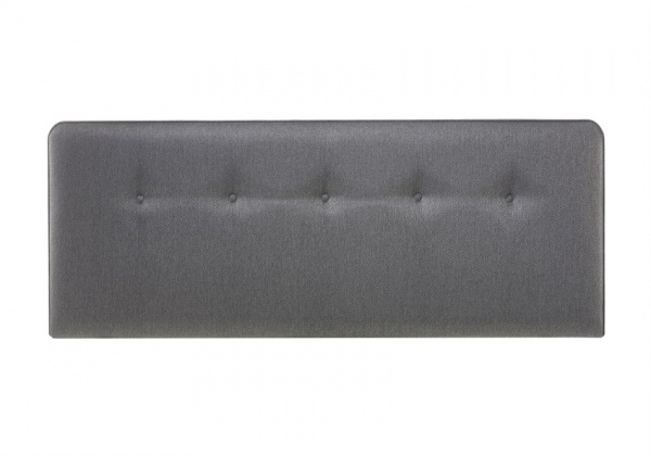 Myers Buttons Upholstered Fabric Headboard
