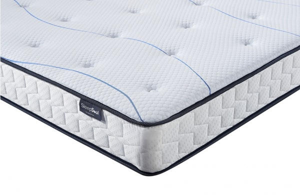 SleepSoul Air Coil Sprung 20mm Memory Foam Mattress