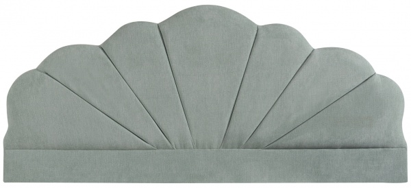 Sweet Dreams Curve Upholstered Fabric Headboard