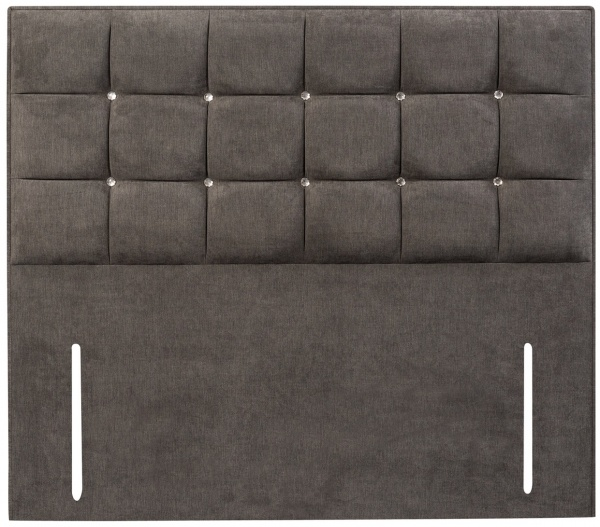 Sweet Dreams Glamour Upholstered Fabric Floor Standing Headboard