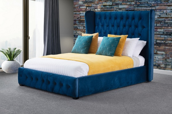Sweet Dreams Fantasy Jewel Upholstered Fabric Bed Frame