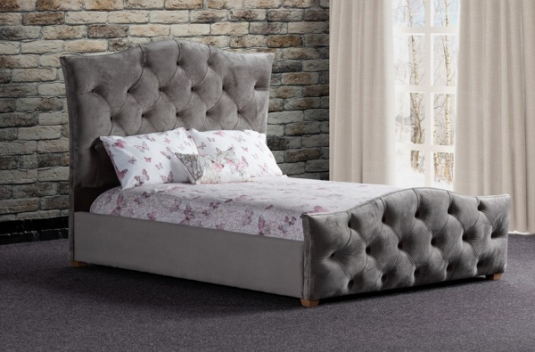 Sweet Dreams Freya Upholstered Fabric Bed Frame