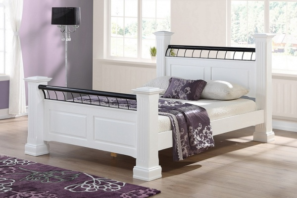 Sweet Dreams Hunter Solid Pine Bed Frame