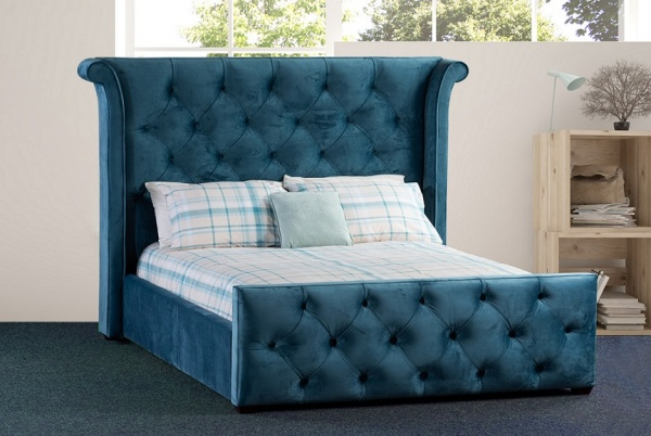 Sweet Dreams Imogen Upholstered Fabric Bed Frame