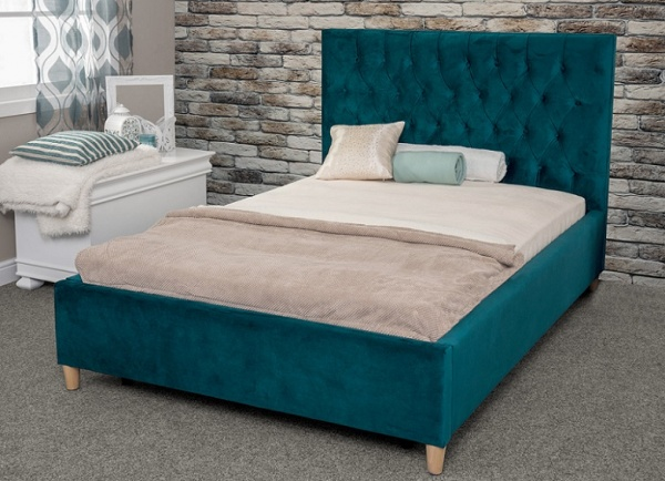 Sweet Dreams Layla Upholstered Fabric Bed Frame