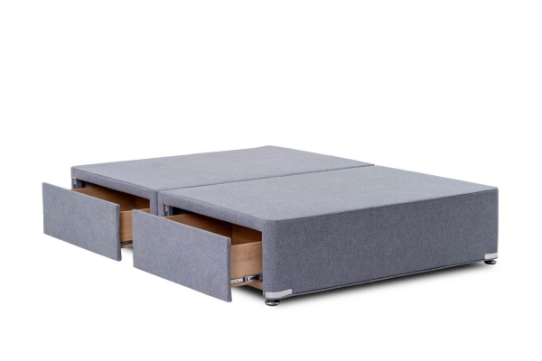 Vogue Premium Reinforced Divan Base with Wooden Regal Legs