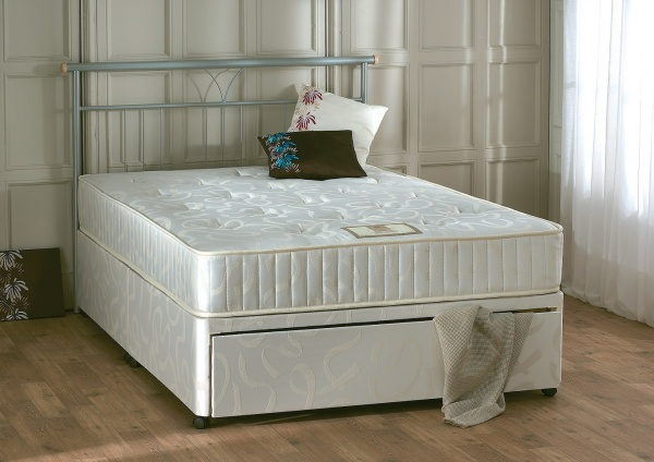 Repose Enigma Orthopaedic Spring System with Rod Edged Frame Divan Bed Set