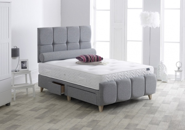 Vogue Westbury Upholstered Fabric Storage Bed Frame